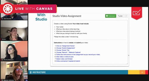 Centers in Canvas Courses (aka Station Rotation)