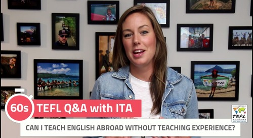 Can I Teach English Abroad without Teaching Experience? - TEFL Q&A with ITA