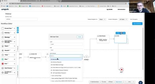 Webinar: Digitization of Client Lifecycle Through No-Code Platforms