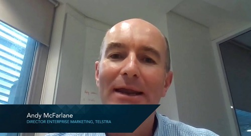Telstra Customer Experience - Andy McFarlane, Director Enterprise Marketing