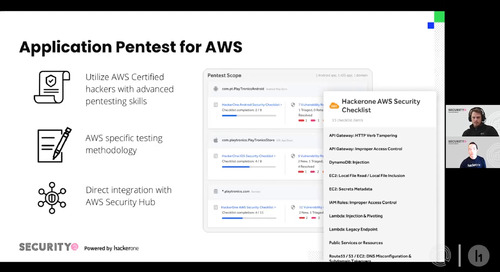 How HackerOne and AWS Security Hub Fortify Cloud Application Security