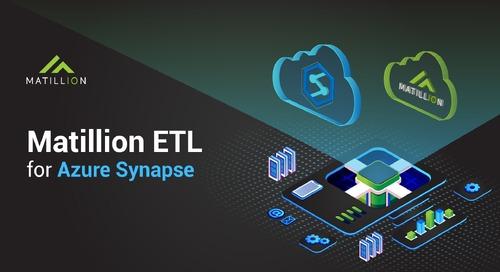 Introducing Matillion ETL for Microsoft Azure Synapse