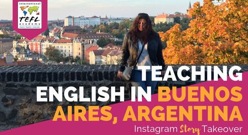 Day in the Life Teaching English in Buenos Aires, Argentina with Adrienne Glenn [Archived on February 21, 2019]