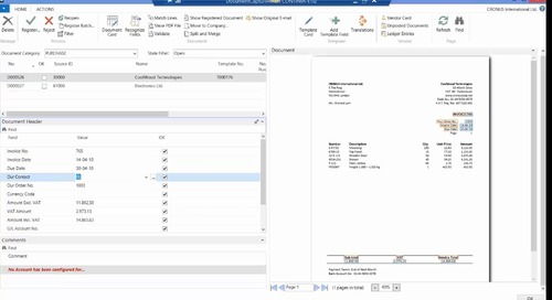 Western Computer Presents Continia Document Capture for Dynamics NAV