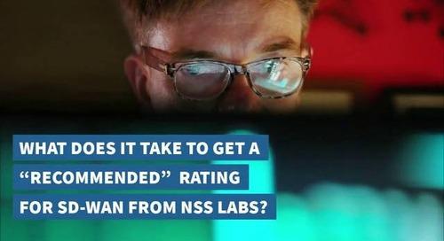 NSS Labs SDWAN
