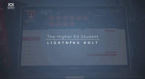 Appirio's Higher Education Student Lightning Bolt