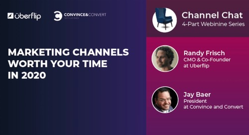 Marketing Channels Worth Your Time in 2020