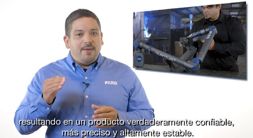 Descubra los detalles del Quantum S FaroArm [Webcast on demand]