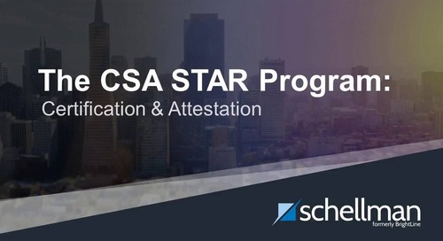 The CSA STAR Program