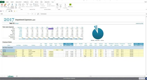 Better Enterprise Budgeting with Microsoft Excel