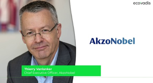 Akzonobel - How to Build Internal Capacity for Your Sustainable Procurement Program