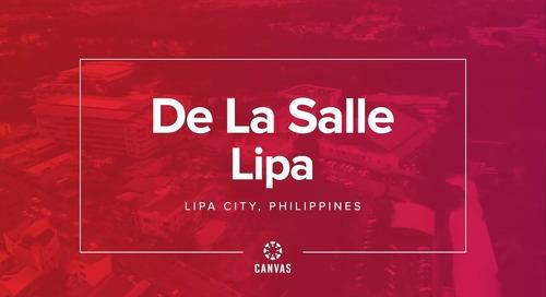 De La Salle Lipa & Canvas- Solving Plastics in the Pacific