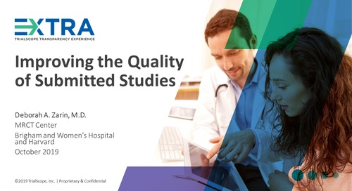 Improving the Quality of Submitted Studies