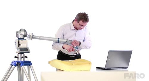 How to check tolerances in seat foam testing with 3D comparison