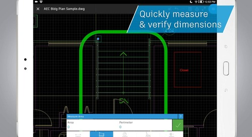 What Can You Do With The AutoCAD Mobile App?