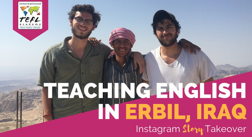 Day in the Life Teaching English in Erbil, Iraq with Adam Lucente