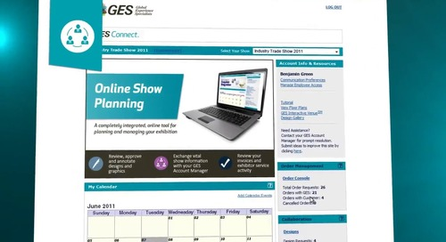 GES Connect - Show Management Technology