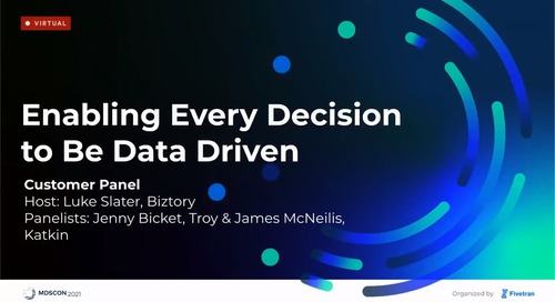 Enabling Every Decision to Be Data-Driven