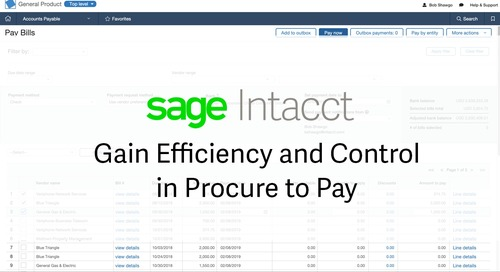 Gain Efficiency and Control in Procure to Pay