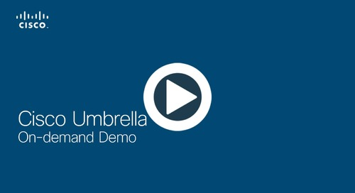 Cisco Umbrella On-demand Demo - English