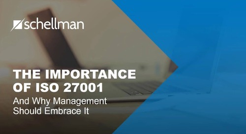 The Importance of ISO 27001