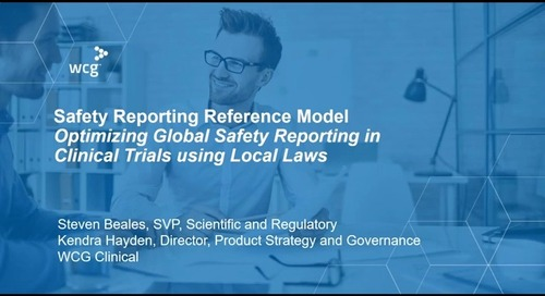 Safety Reporting Reference Model: Optimizing Global Safety Reporting in Clinical Trials using Local Laws