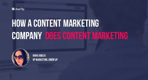 How a Content Marketing Company Does Content Marketing