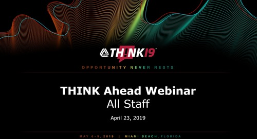 THINK Ahead Webinar - INTERNAL