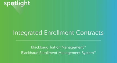 Integrated Enrollment Contracts
