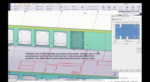Betonielementtien mallinnus ja detaljointi