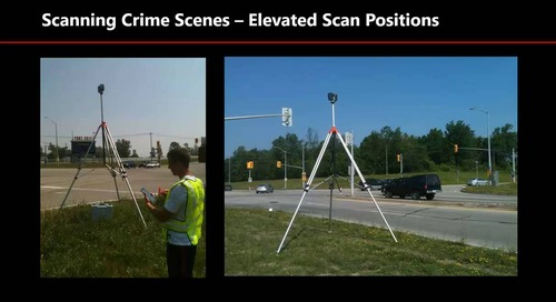 Maximizing 3D technology for forensic investigations