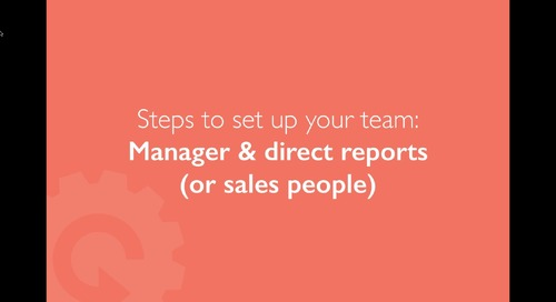 How to Better Manage your Team in Contactually