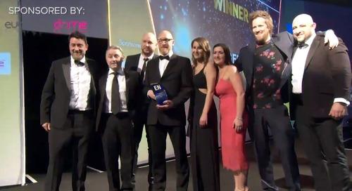 2019 EN Awards Best Supplier to Organisers