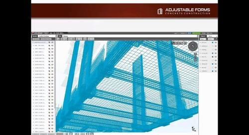 Concrete Contractor Adjustable Forms Adopt Tekla To Help Improve Business