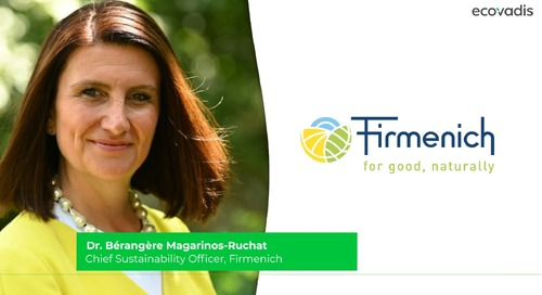 Firmenich - How to Use Sustainable Procurement Goals Across Departments to Reach Management Business Objectives