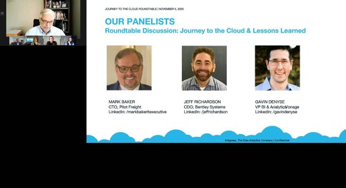 Journey to the Cloud Roundtable