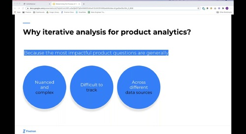 Fivetran + Mode_ Modernizing the Process of Product Analytics