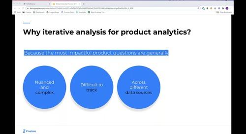 Fivetran + Mode_ Modernizing the Process of Product Analytics