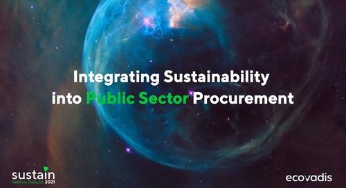 APR : Intégrer la durabilité dans les marchés publics