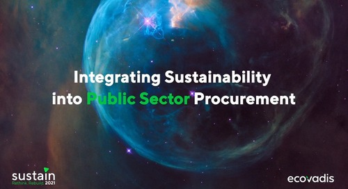 Integrating Sustainability into Public Sector Procurement