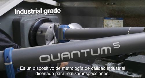 Conozca el Quantum S FaroArm y ScanArm