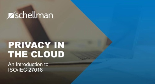 Privacy in the Cloud – an introduction to ISO 27018