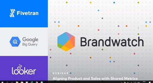 Aligning Product and Sales with Shared Metrics with Brandwatch