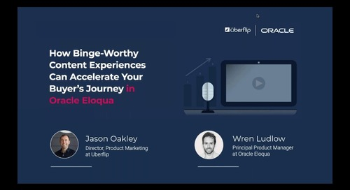 How Binge-Worthy Content Experiences Can Accelerate Your Buyer's Journey in Oracle Eloqua
