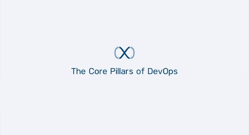 Appirio DX - Core Pillars of DevOps