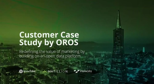 How Oros Analytics Redefined the Value of Marketing