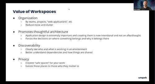 Webinar: Transitioning to Workspaces