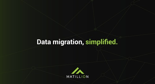 See how to use Matillion Data Loader to get your data from popular sources to your cloud data warehouse - for FREE.