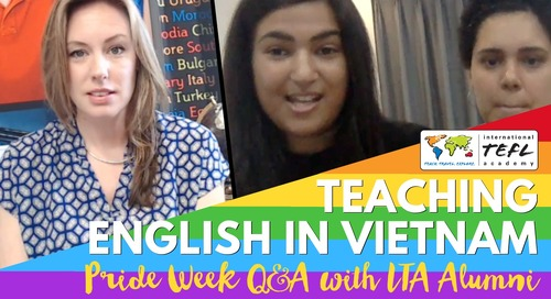LGBTQ+ Teaching English in Hanoi, Vietnam with Kim & Caira