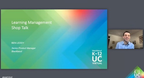 Shop Talk: Learning Management